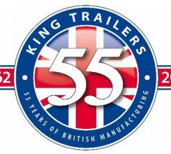 King Trailers - 55 Years Logo
