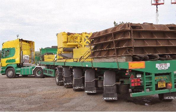 BP93/5S – Flat Platform Ballast Trailer