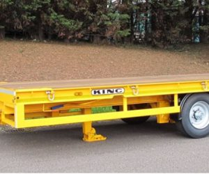 DB10/2CC-17.5 – Close Coupled Drawbar Trailer