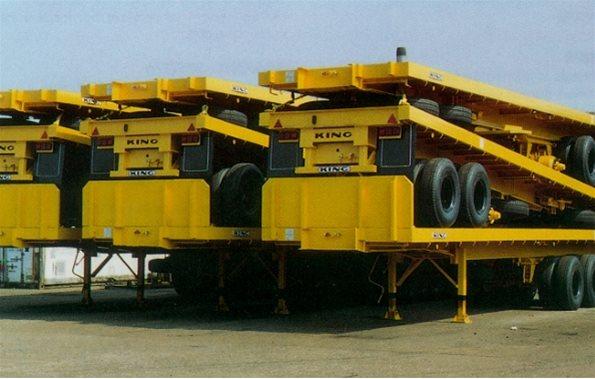GP59/2 - Heavy Duty Flat Platform Trailer