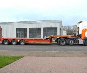 GTS60/3 - 19.5 Heavy Duty Plant Stepframe Trailer