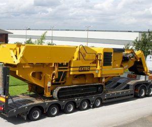 MTS86/5-17.5 – Heavy Duty Monospine Plant Trailer