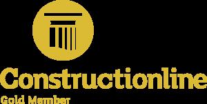 Constructionline Gold logo.
