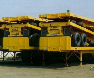 A range of heavy duty flat platform trailers from King Trailers.