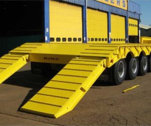 A range of heavy duty stepframes from King Trailers.