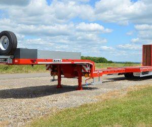 The King MTSE range of extending trailers.