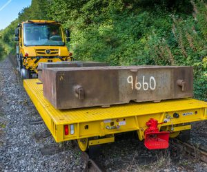 Rail trailers.