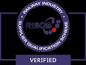 RISQS verified logo.