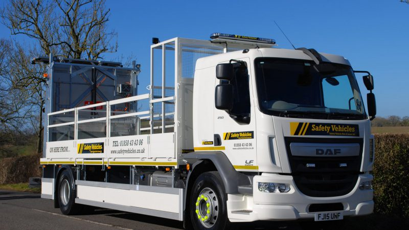 One of our Safety Vehicles available for hire.