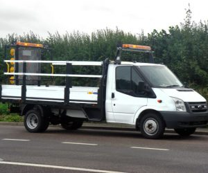 Design of traffic management vehicle bodies.